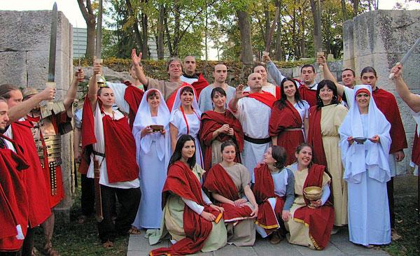 Военен сбор в лагера на Траян Деций